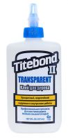 Клей TITEBOND II TRANSPARENT PREMIUM WOOD GLUE влагостойкий 237 мл 1123